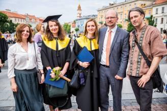 EHU Graduation, Vilnius, Lithuania (2016)