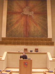In Lithuanian Seimas (2014)